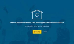 Online Donation Form Template