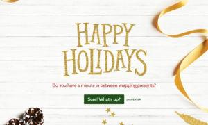 Interactive Christmas eCard Template