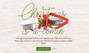 Christmas Dinner Planner Template