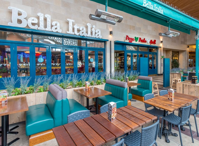 Bella Italia Italian Restaurants In Bristol