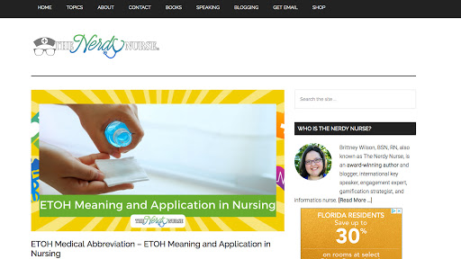 The Nerdy Nurse Homepage