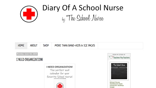 Diary of a School Nurse Homepage