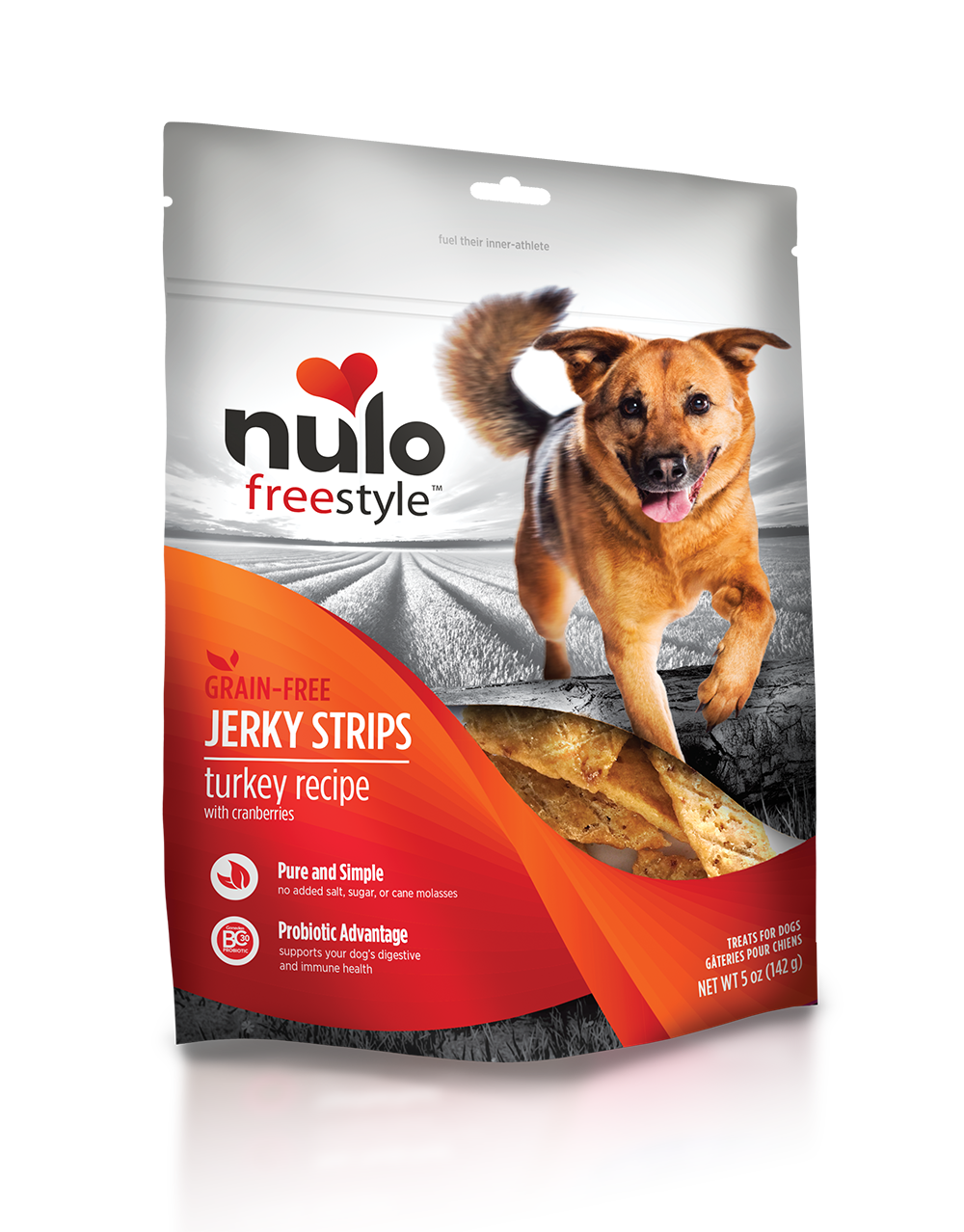 Nulo freestyle jerkytreats turkey
