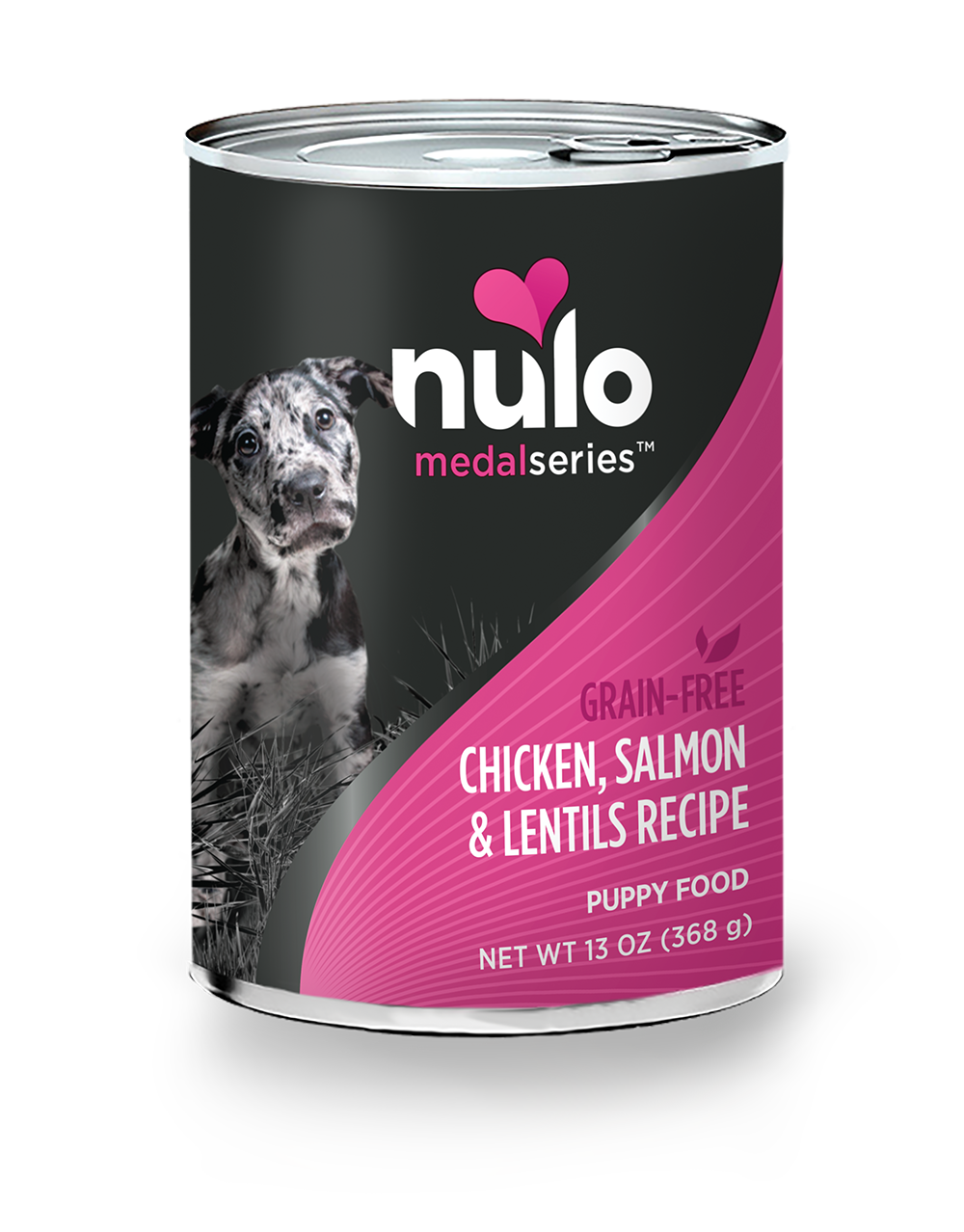 MedalSeries Canned Puppy Chicken, Salmon & Lentils Recipe ...