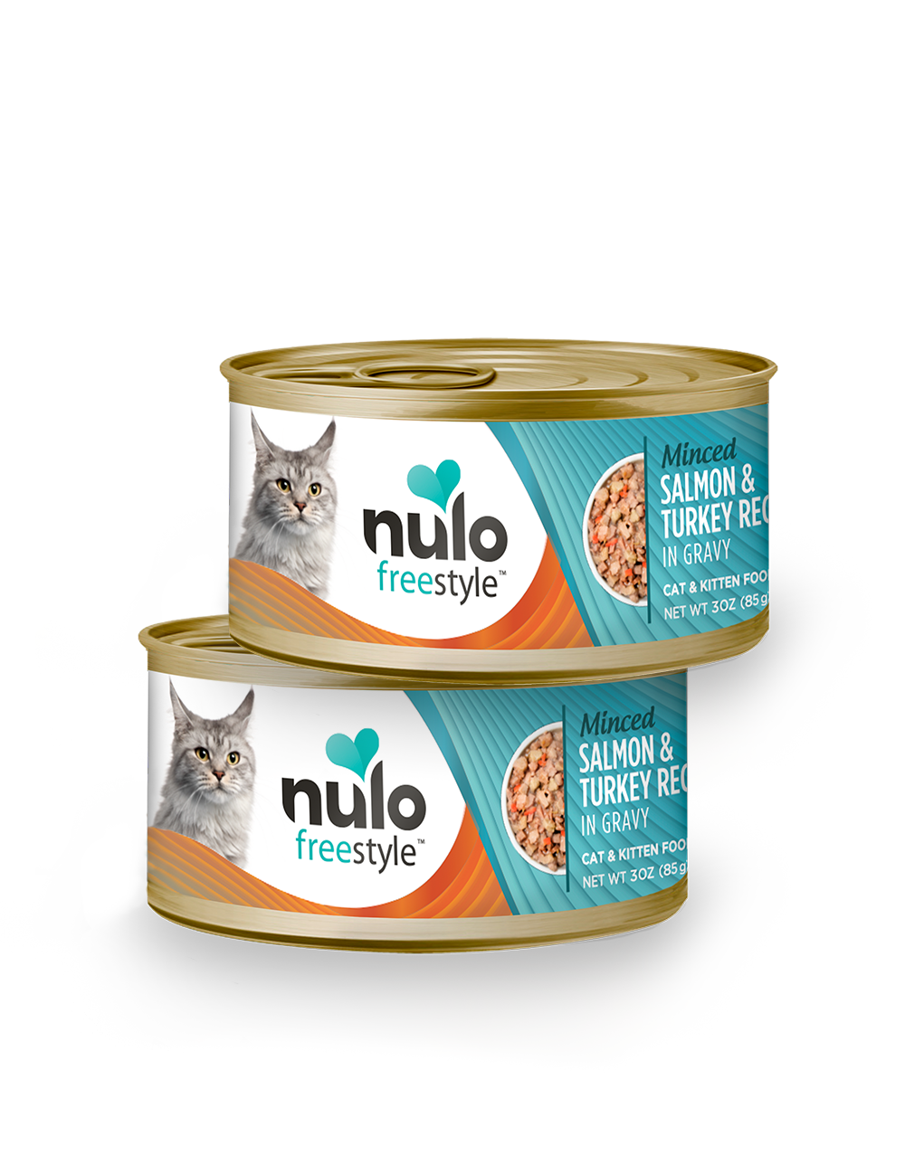 Nulo freestyle 3oz cat cans Salmon&Turkey