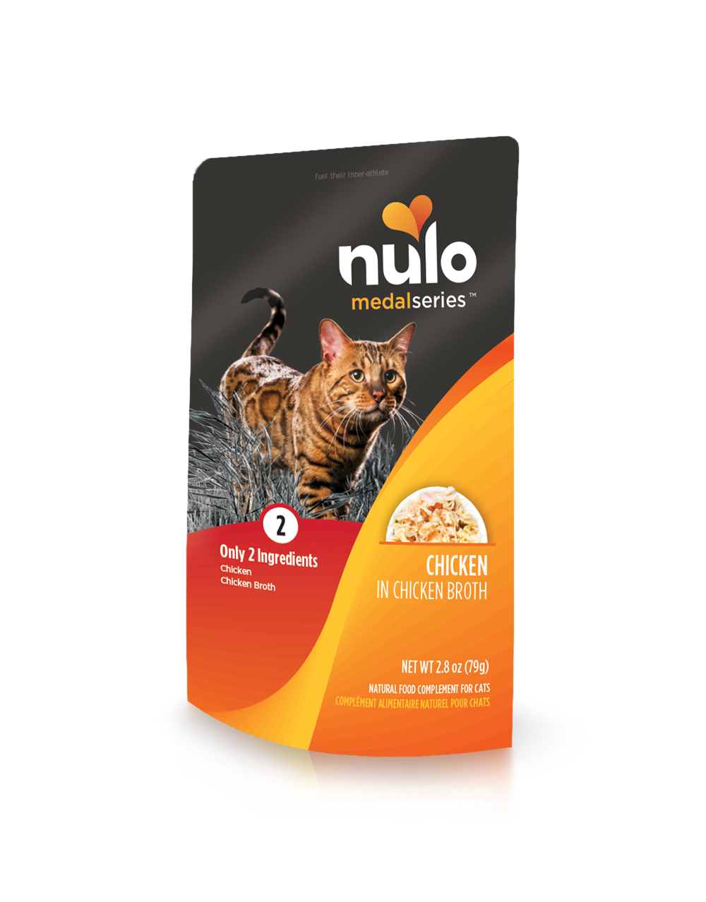 Nulo medalseries cat pouch chicken