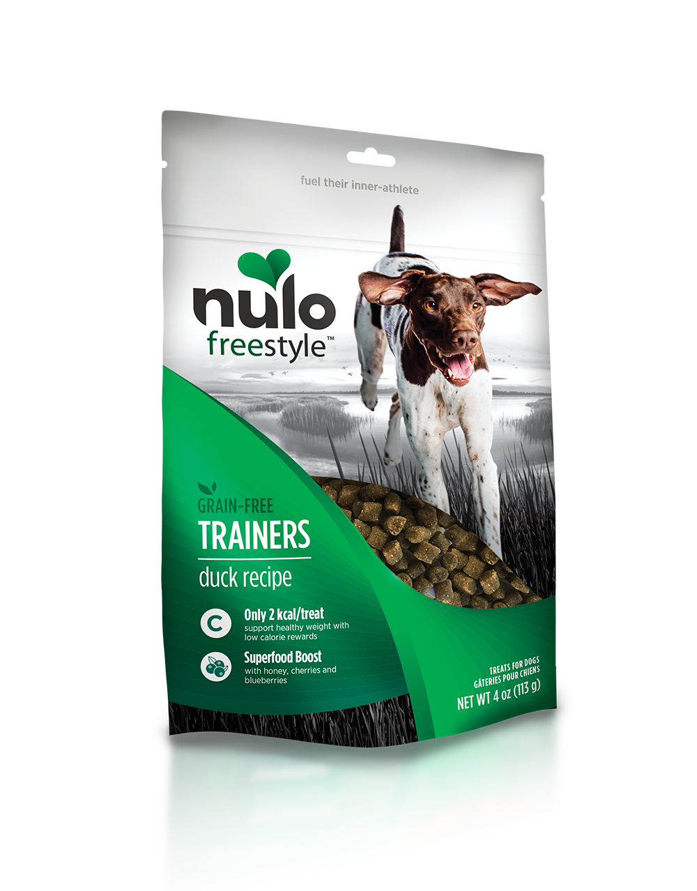Nulo freestyle trainingtreats duck