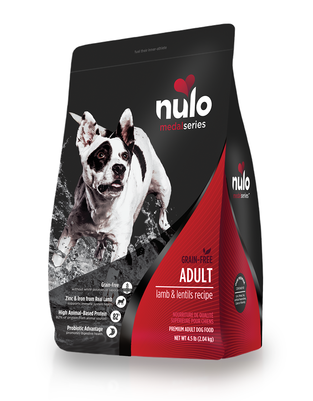 Nulo medalseries dog lamb 4.5lb