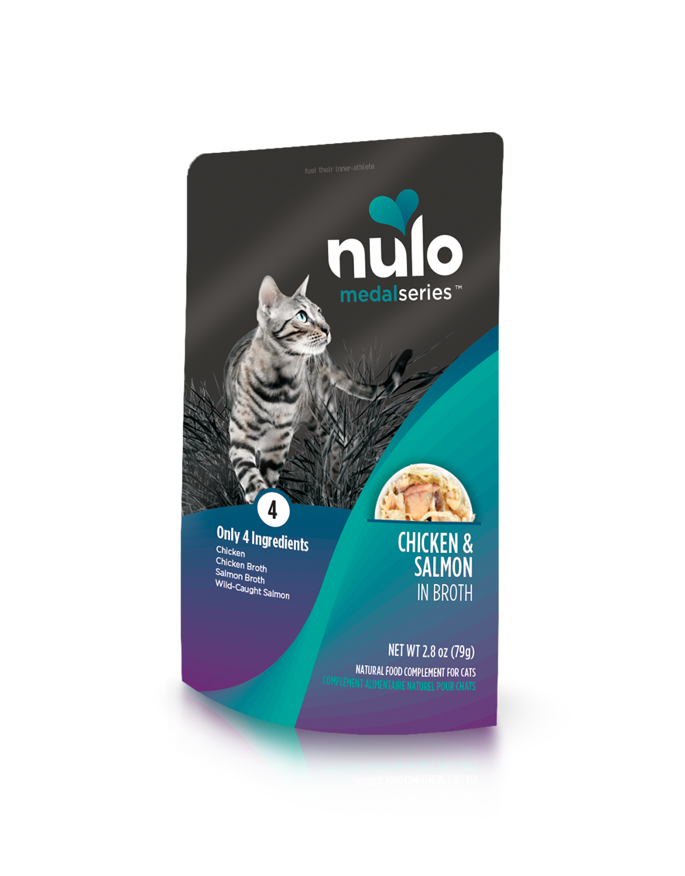 Nulo medalseries cat pouch chicken&salmon
