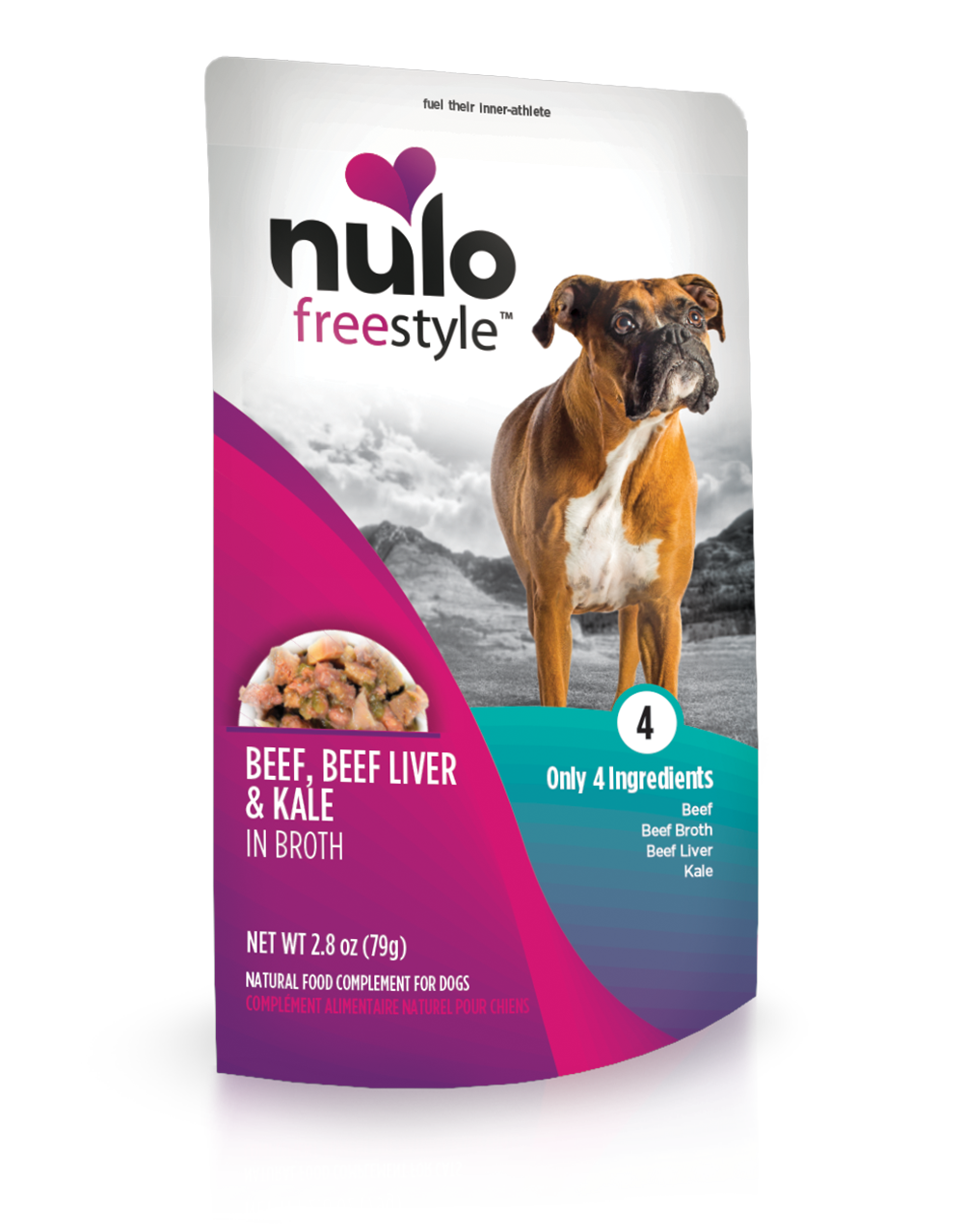 FS Dog Beef&Kale Pouch