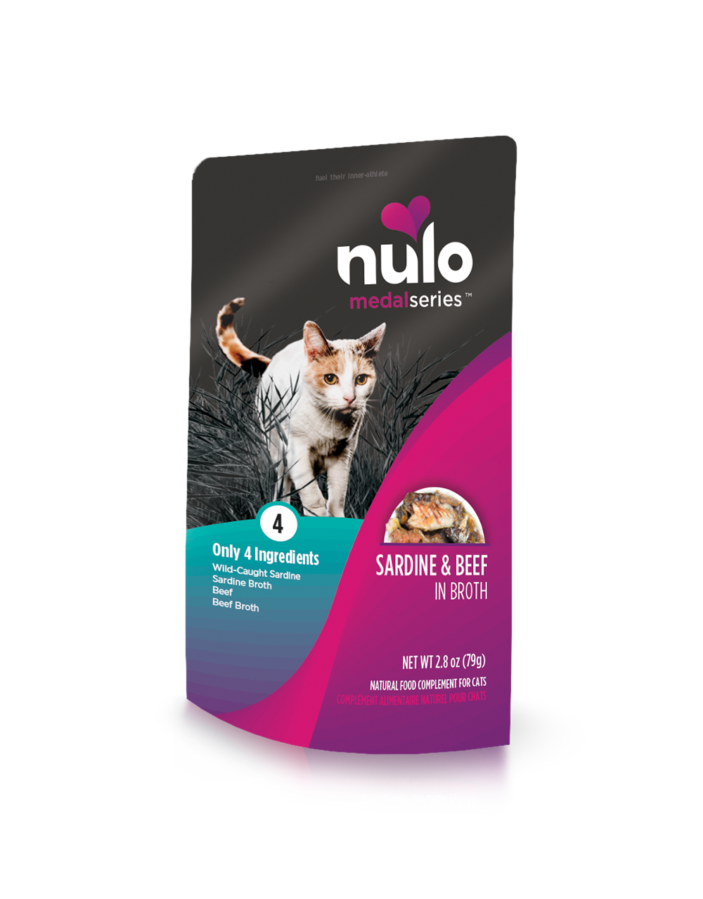 Nulo medalseries cat pouch sardine&beef