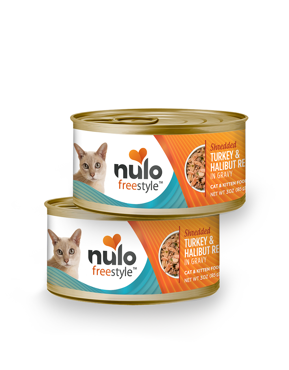 Nulo freestyle 3oz cat cans Turkey&Halibut