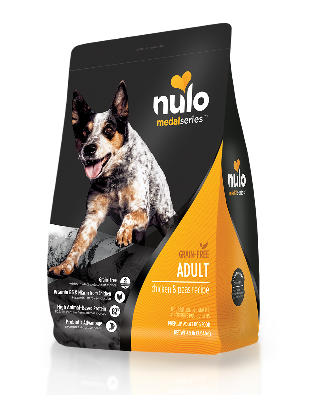 Nulo medalseries dog chicken 4.5lb