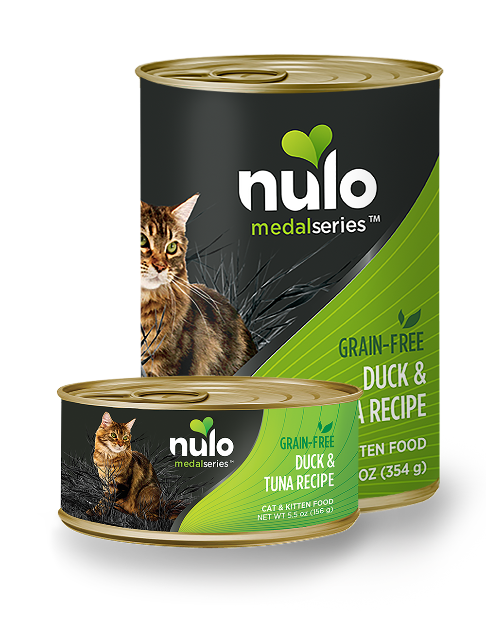 Nulo medalseries cat duck can