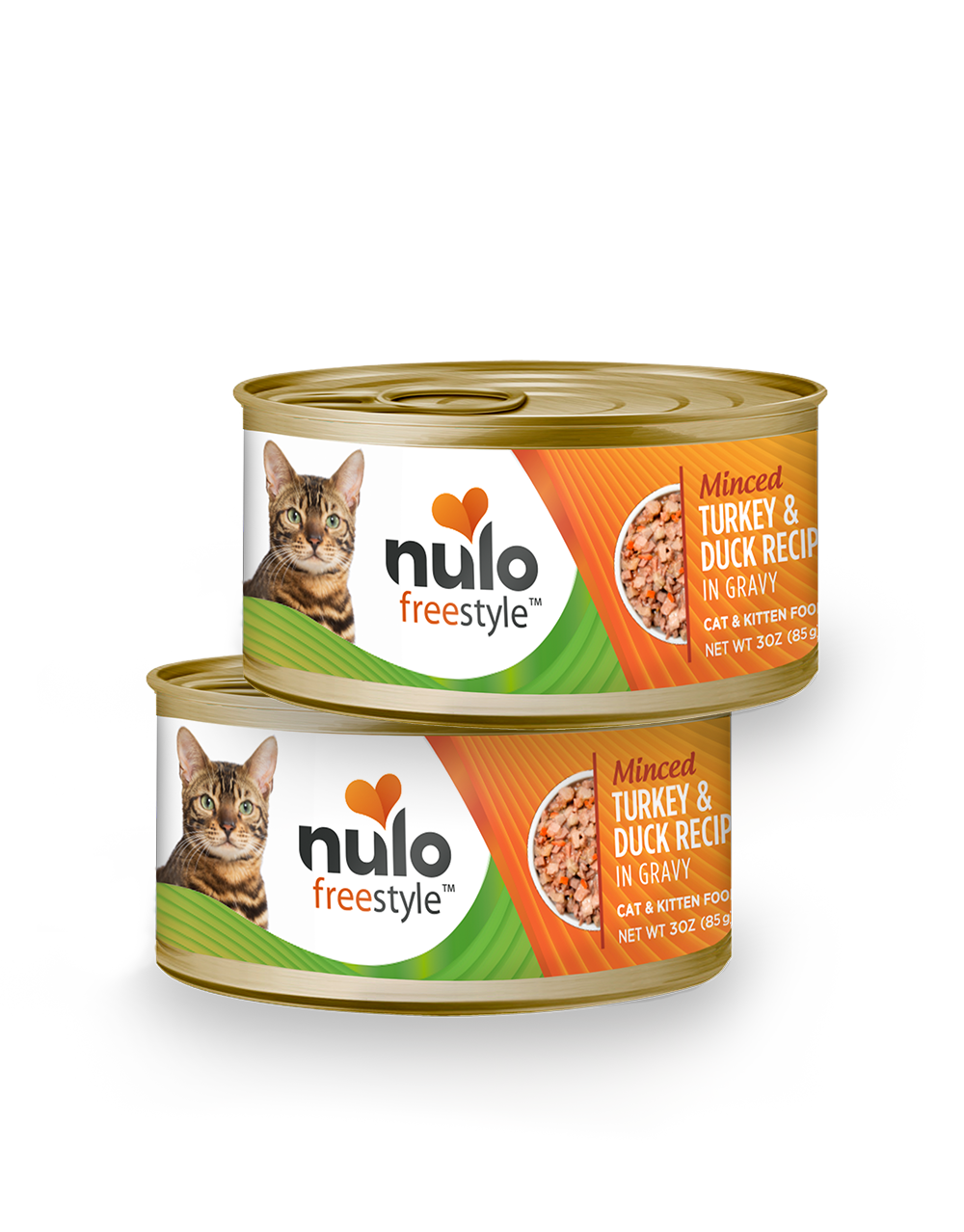 Nulo freestyle 3oz cat cans Turkey&Duck