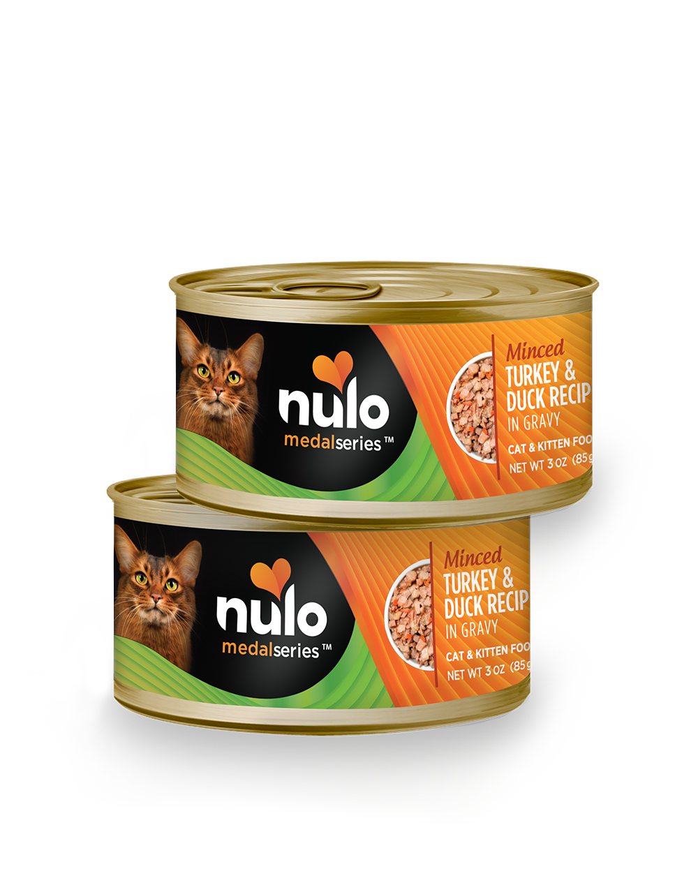 Nulo medalseries 3oz cat cans Turkey&Duck