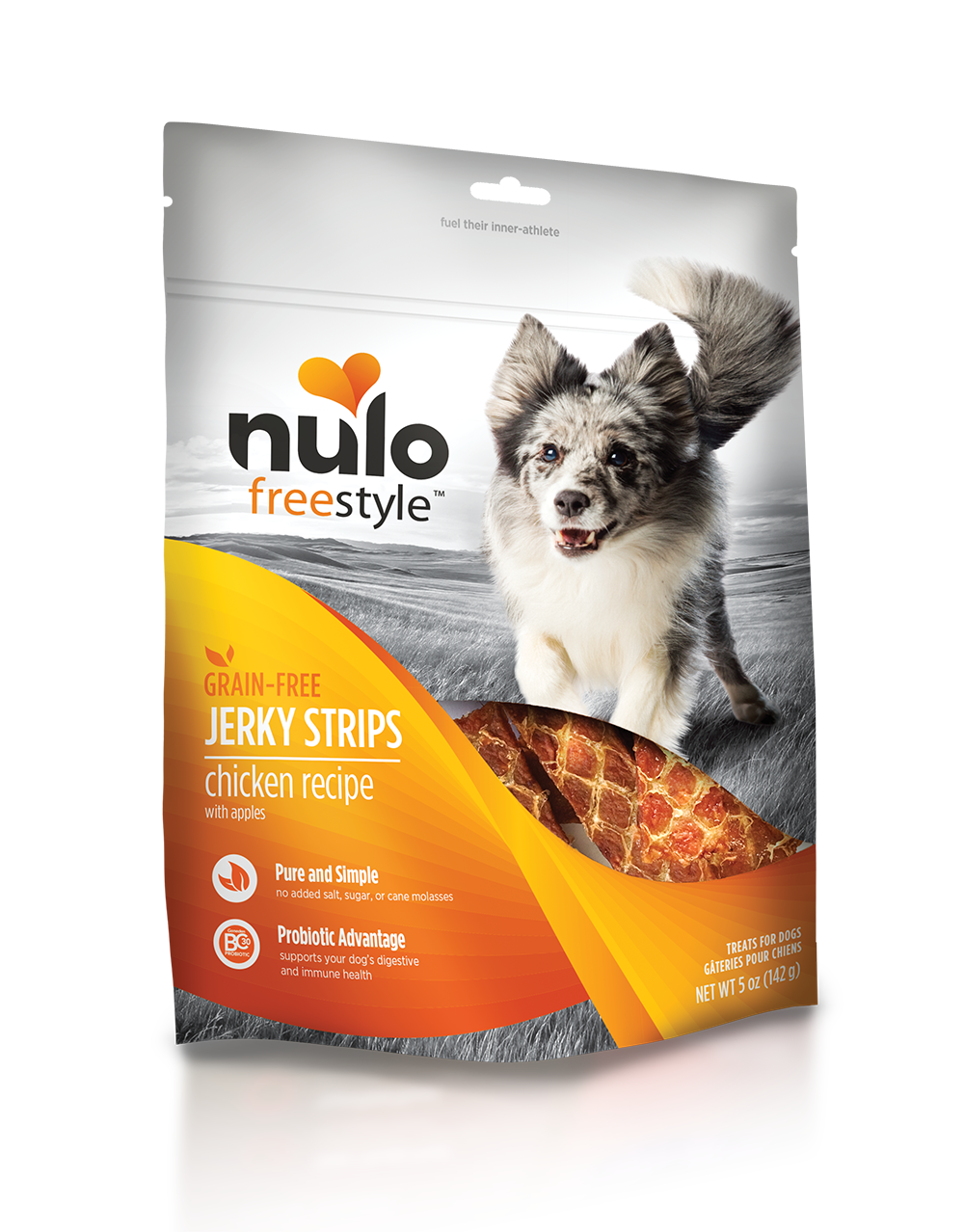 Nulo freestyle jerkytreats chicken