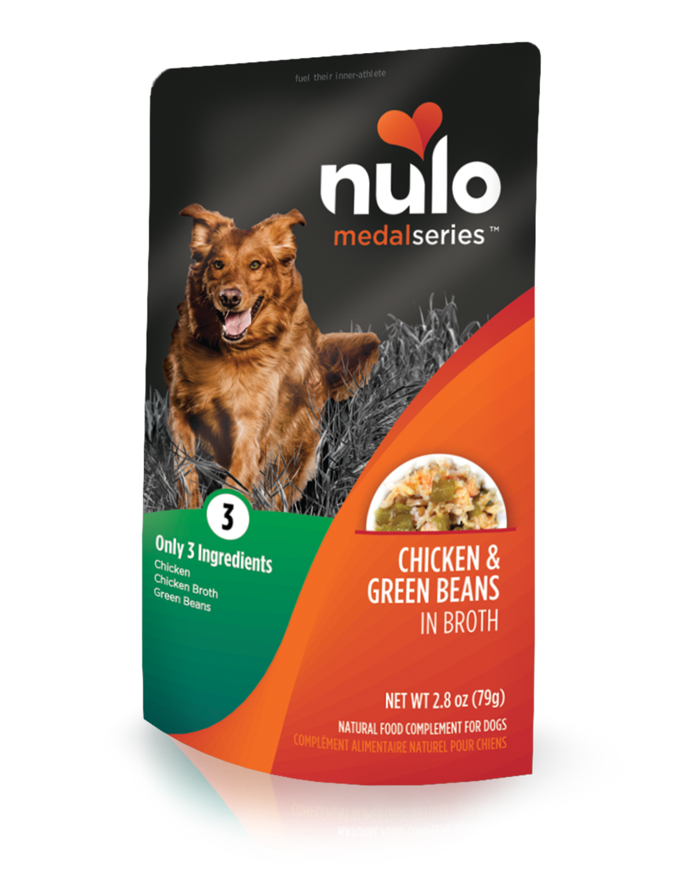 MS Dog Pouch ChickenGreenBean