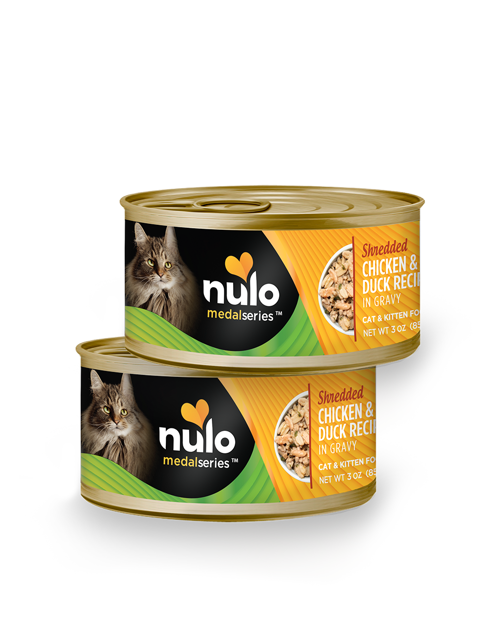 Nulo medalseries 3oz cat cans Chicken&Duck