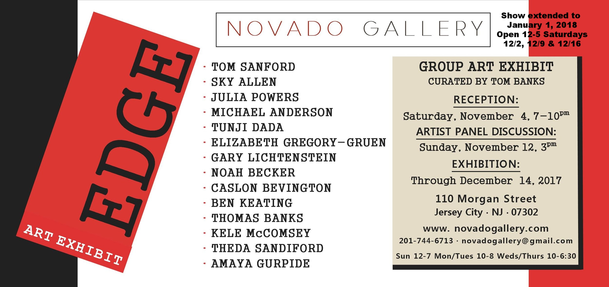 Edge Novado Gallery Flyer