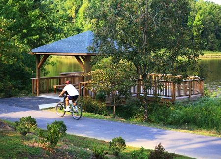 Enjoy a relaxing bike ride or walk in one of Cary's many outdoor spaces.
