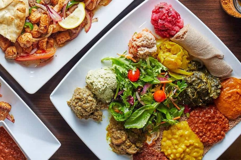 Nafkot is the perfect restaurant for those looking to mix it up for lunch in Raleigh.
