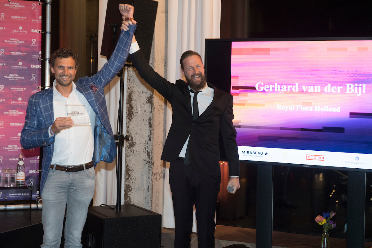 Gerhard van der Bijl: winnaar Digital Transformers Awards 2017