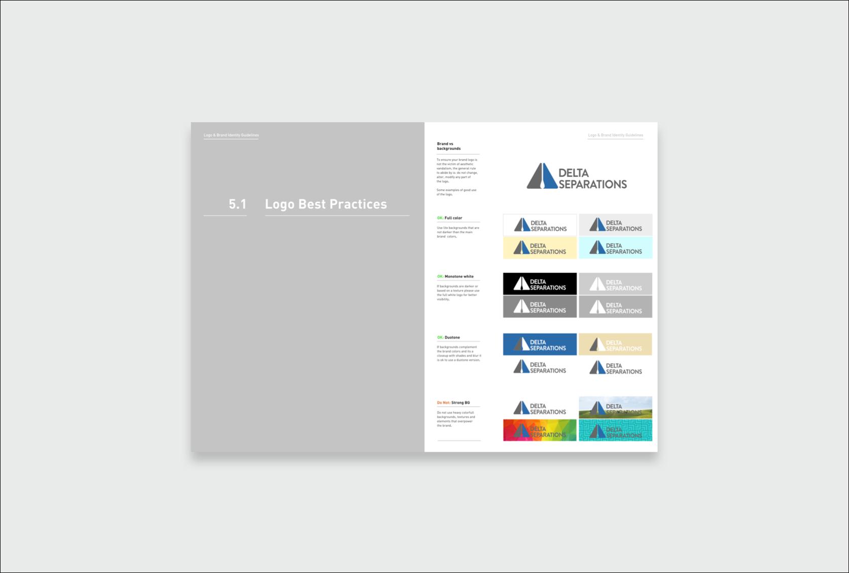 Delta Logo best practices