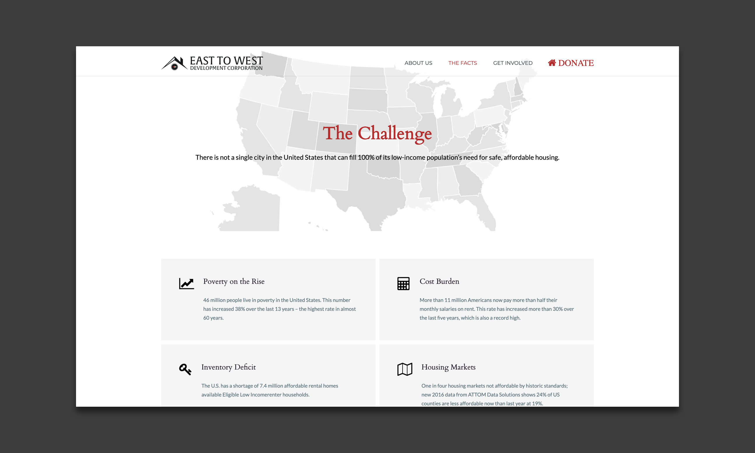 The challenge screengrab
