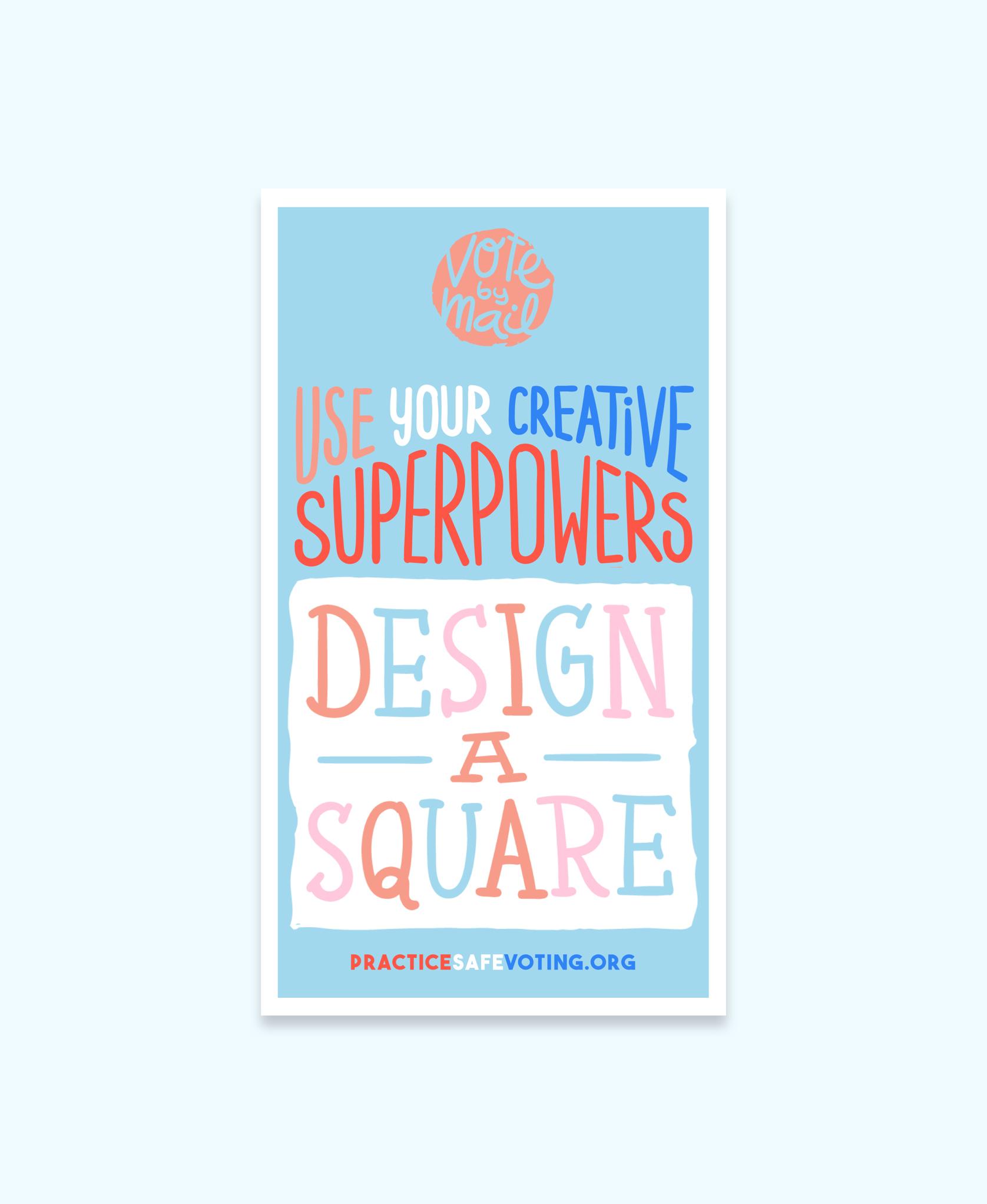 Design a square instagram story