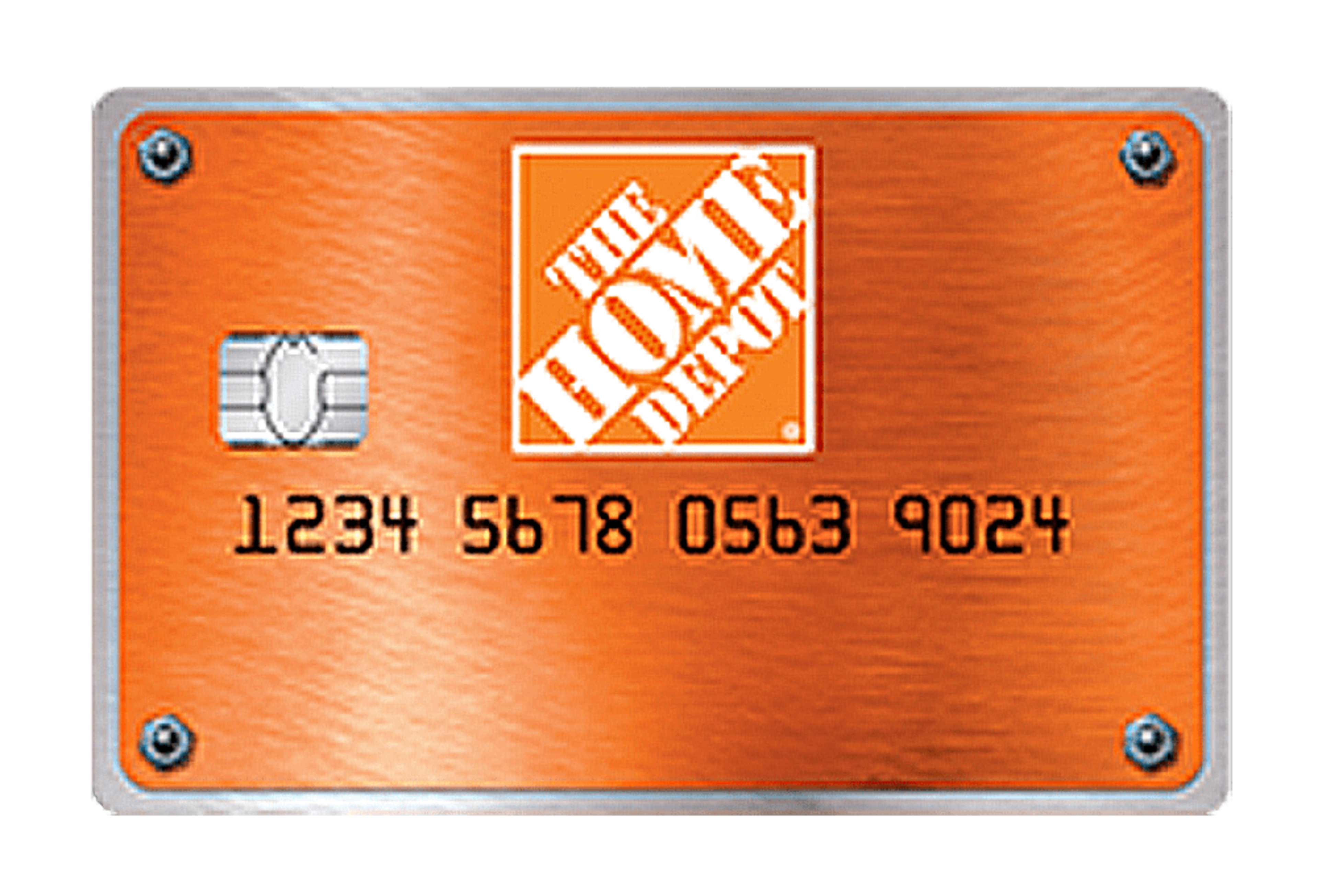 Home Depot Consumer Credit Card Managed by Tally.