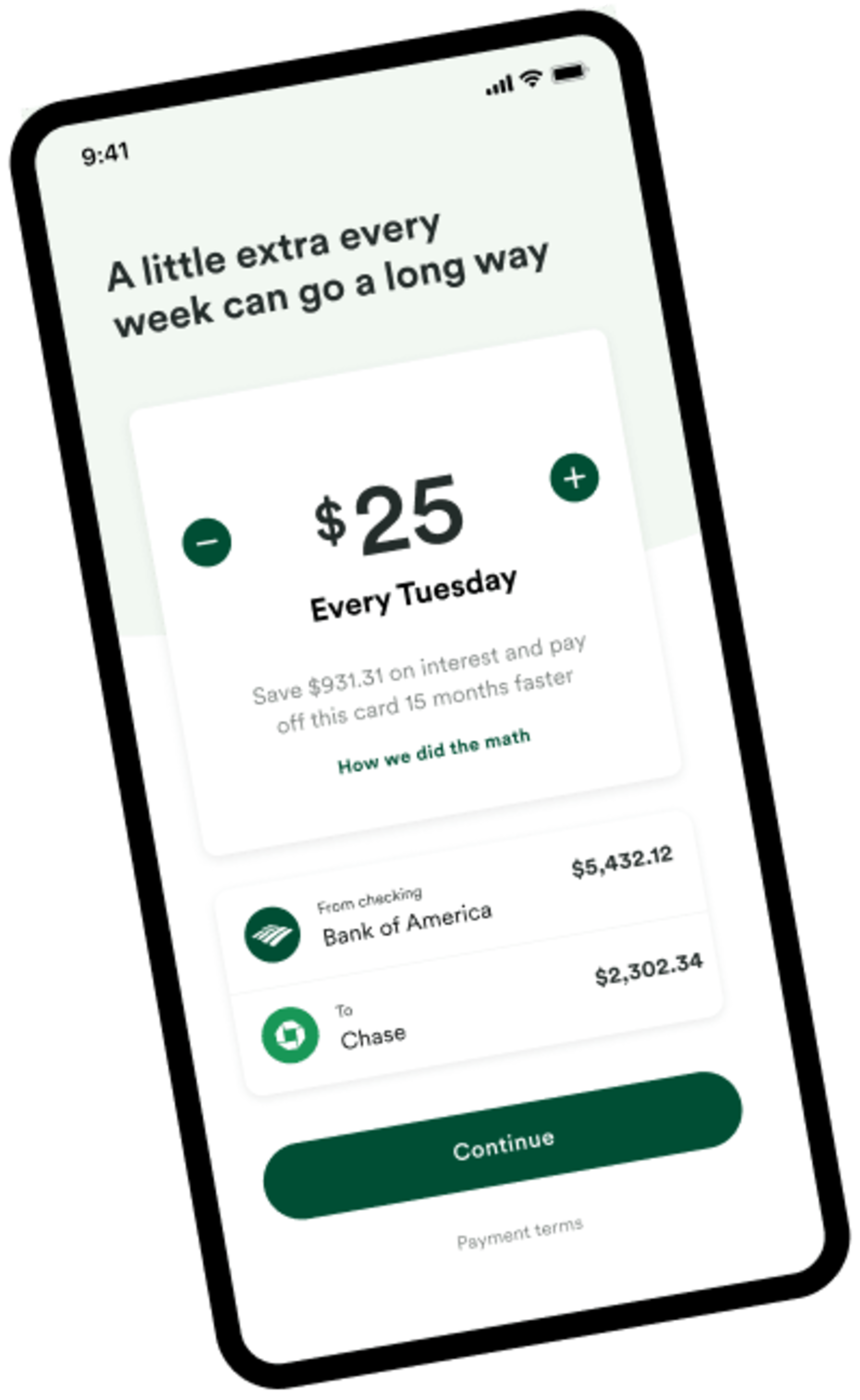 Make extra payments without extra effort with Tally