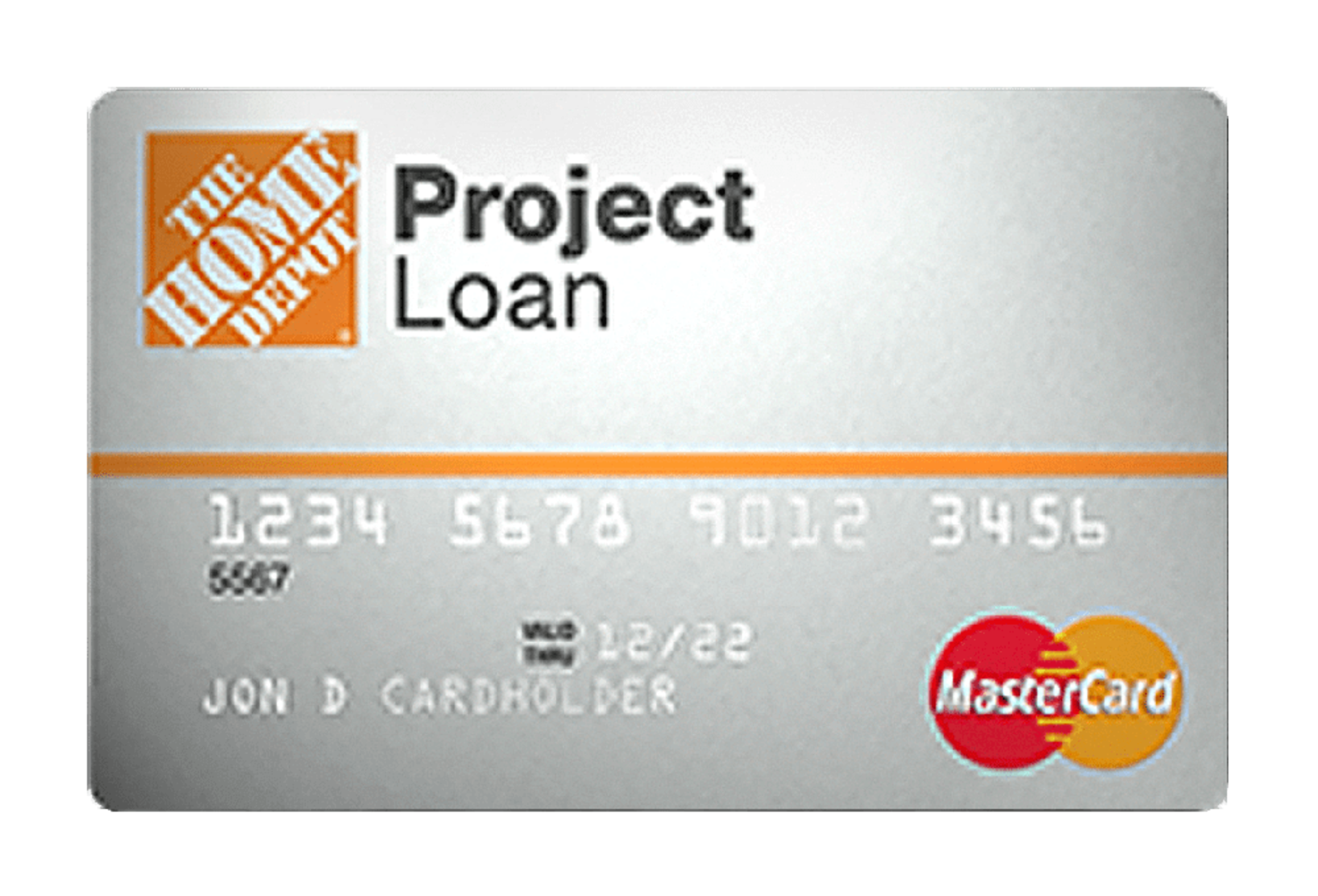 Home Depot Project Loan Credit Card Managed by Tally.