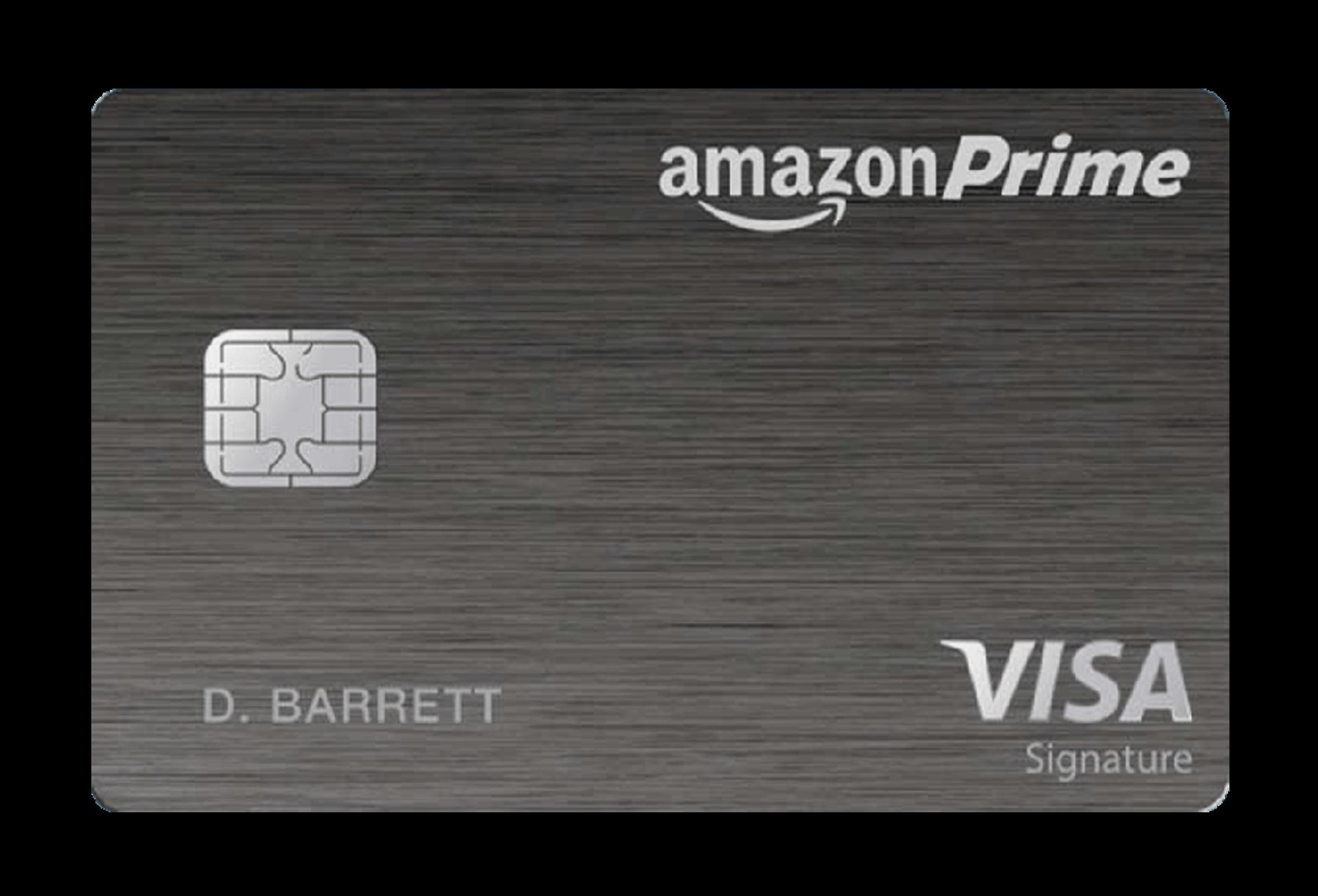 Amazon Prime Rewards Visa Signature Card Managed by Tally.