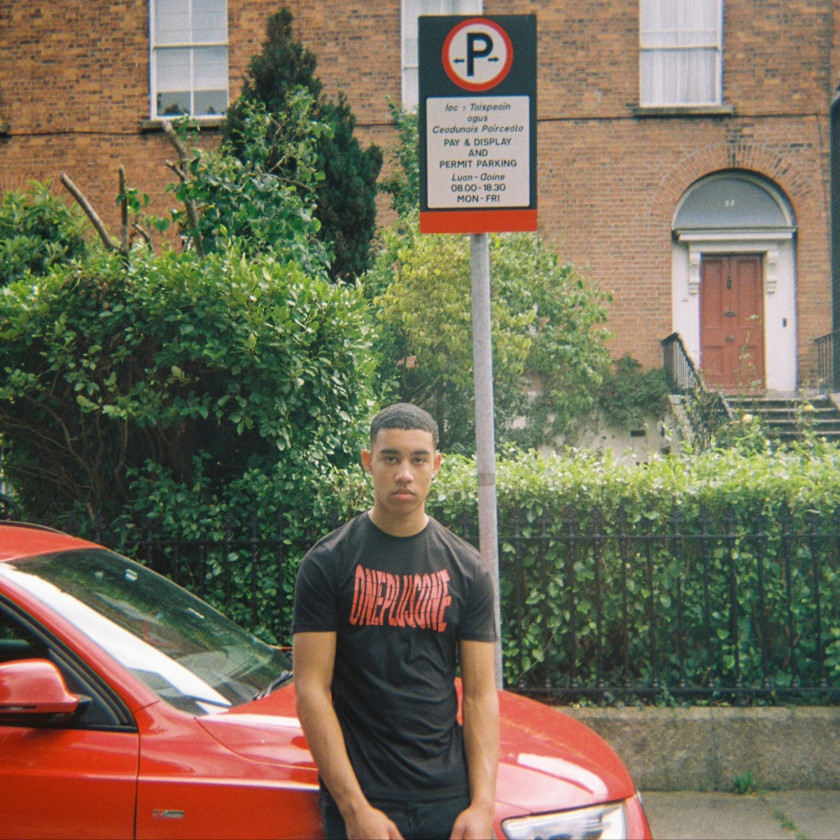 Nathan - Red Car (Square)