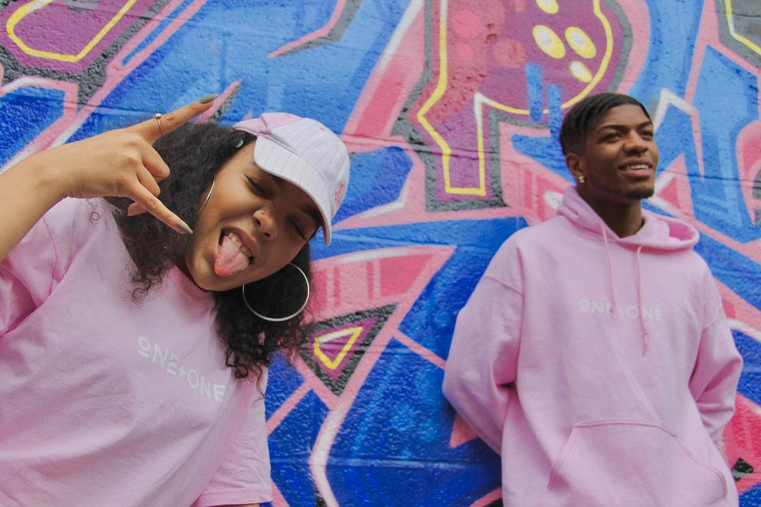 Energetic Vibe Link is in the bio. All products available for purchaseworldwide shipping Product S17 Pink Tee and Hoodi