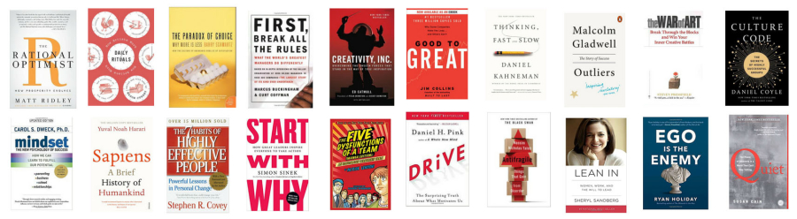 20 Books Every Startup Founder Should Read