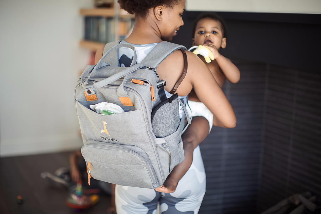 FREE Diaper Bag when you Subscribe to Dyper's Bamboo Diapers