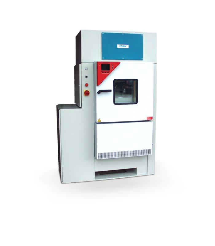 Dynamic Heating Compact Testing Machine 10 kN  / 10 Hz 20-60000