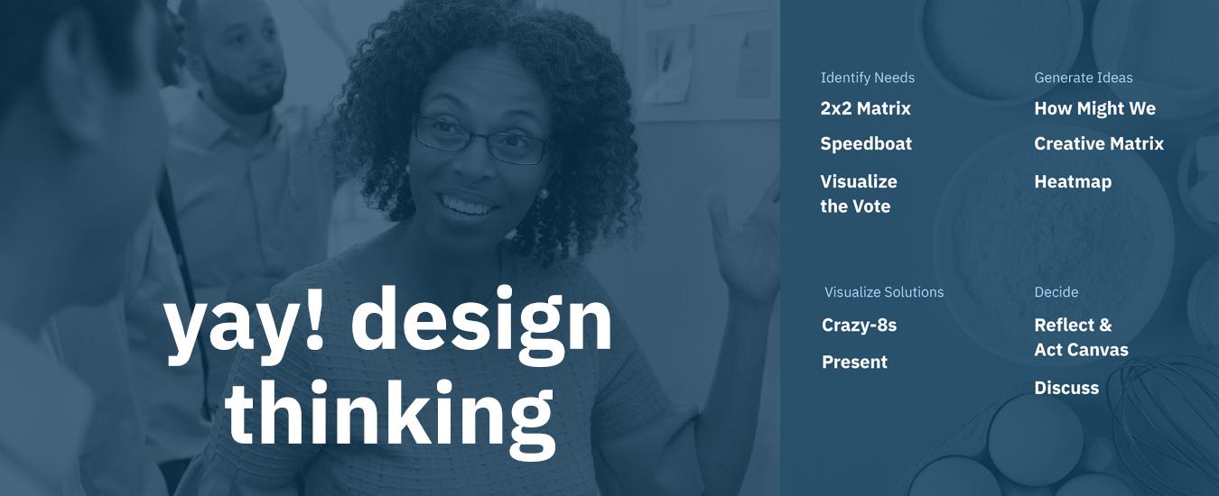 yay! design thinking.