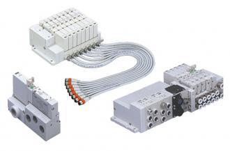 Plug-in block manifold