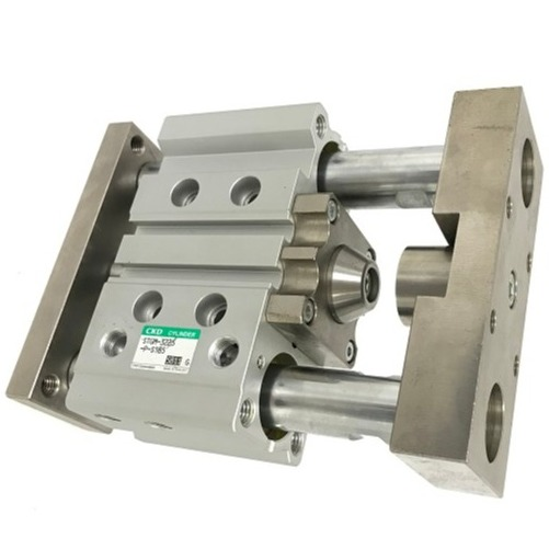 Guided cylinder with special option
