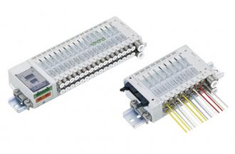PLC-compatible block manifold