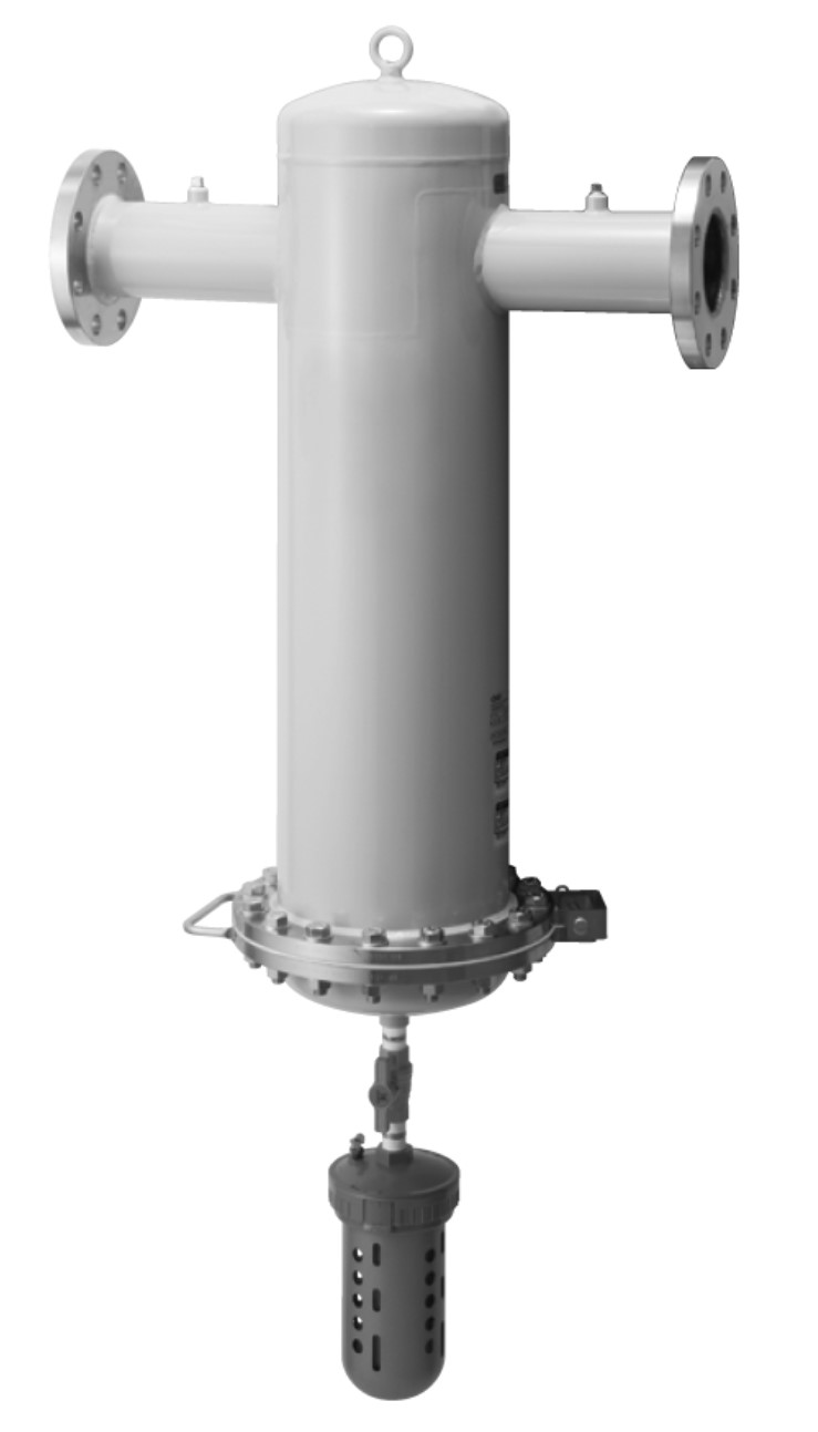 Large main line filter
