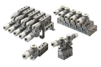 Pilot operated explosion-proof 5-port valve (compliant with international explosion-proof guidelines)