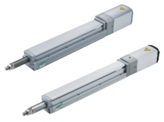Electric actuators Rod with built-in guide type