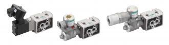 NAMUR-compatible pneumatic valve