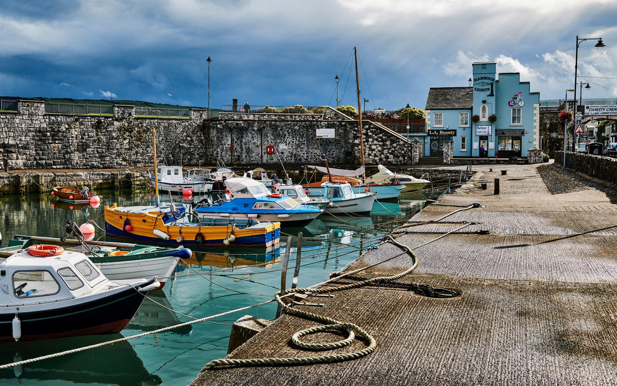 Carnlough Village with Tours Ireland