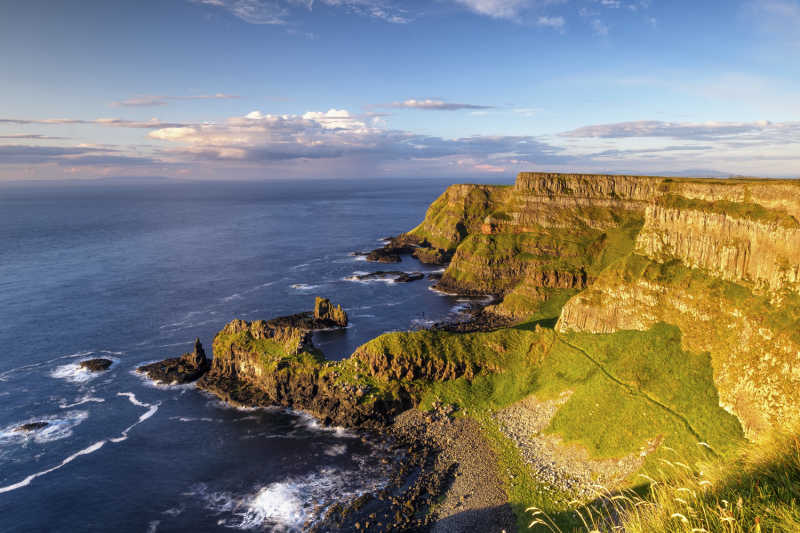 Giant's Causeway Coastline with Tours Ireland