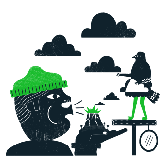 Mailchimp Open Commerce Open Source Illustration